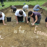 E is for Excavation
