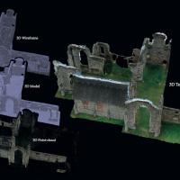 Leiston Abbey Photogrammetry